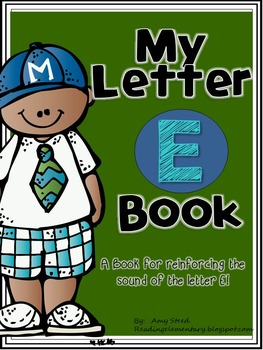 Letter E Book of Beginning Sounds-Emergent Reader w/Runnin