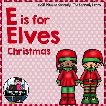 Christmas - Letter E is for Elves