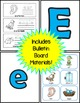 Letter E Practice Printables