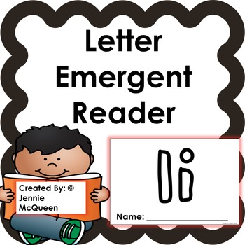 Letter Emergent Reader: Ii - PRINT AND GO!