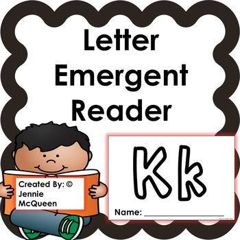 Letter Emergent Reader: Kk - PRINT AND GO!
