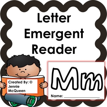 Letter Emergent Reader: Mm - PRINT AND GO!