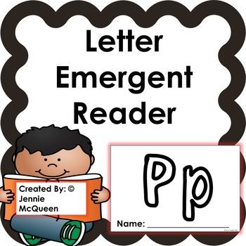Letter Emergent Reader: Pp - PRINT AND GO!