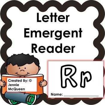 Letter Emergent Reader: Rr - PRINT AND GO!