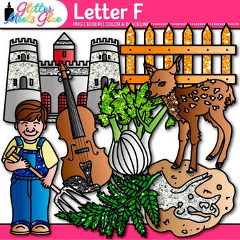 Letter F Alphabet Clip Art - Letter Recognition, Identific