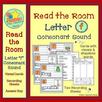 Letter F Consonant Sound Read the Room