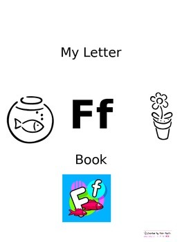 Letter F Mini book