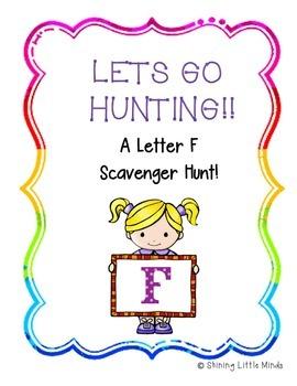 Letter F Scavenger Hunt