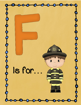 Letter F Story and Writing Practice