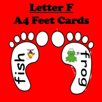 Letter F cards