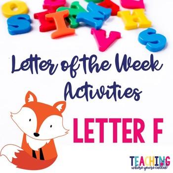 Letter Ff Activity Pack