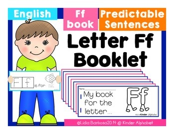 Letter Ff Booklet- Predictable Sentences