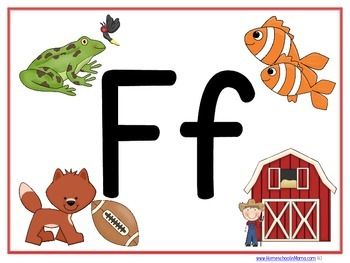 Letter Ff Tater Tot Learning Pack