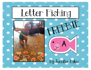 Letter Fishing FREEBIE