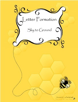Letter Formation with Tracing Practice (portrait and landscape)