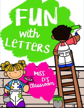Fun With Letters FREEBIE