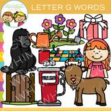 Letter G Alphabet Clip Art