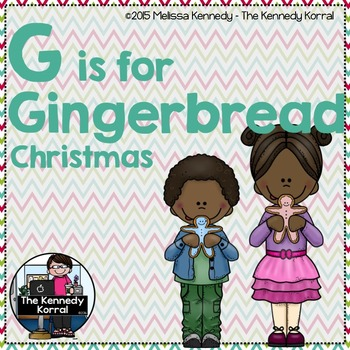 Letter G is for Gingerbread {Christmas}