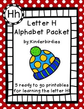 Letter H Alphabet Packet