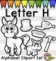 Alphabet Clip Art: Letter H Phonics Clipart Set - Clip Art
