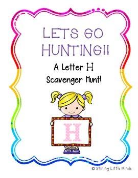 Letter H Scavenger Hunt
