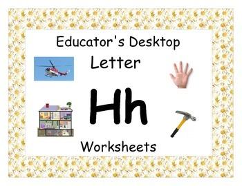 Letter Hh- Worksheets