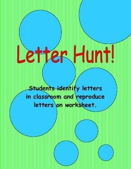 Letter Hunt!