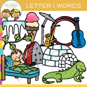 Letter I Alphabet Clip Art