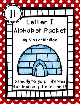 Letter I Alphabet Packet