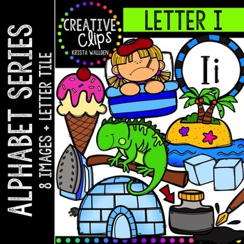 Letter I {Creative Clips Digital Clipart}