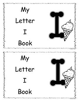 Letter I Little Book/Reader