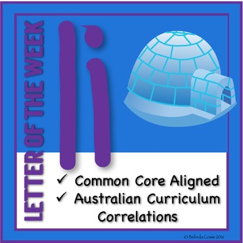 Letter of the Week Pack: I (Incorporating Literacy, Math,