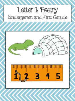 Letter I Poetry Kindergarten and First Grade