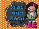 Letter ID Fluency Sliders