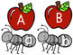Letter Identification Ants and Apples