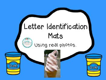 Letter Identification Mats