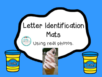 Beginning Sound & Letter Identification Mats