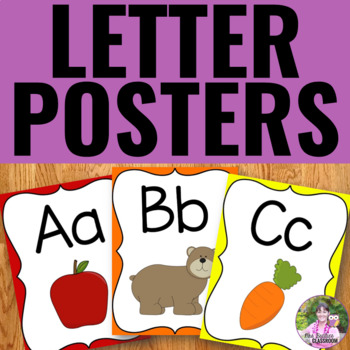 Letter Posters