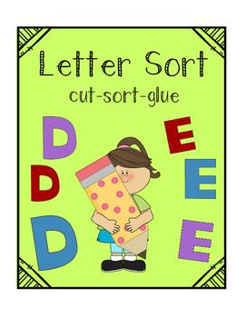 Letter Identification Sort