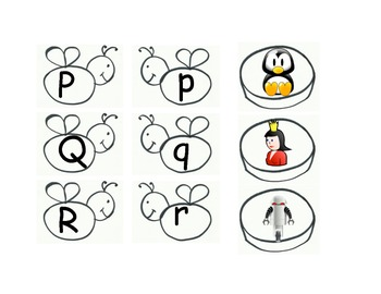 Letter Identification and sound identification match