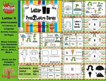 Letter Ii Language & Literacy Activity Center {COMMON CORE