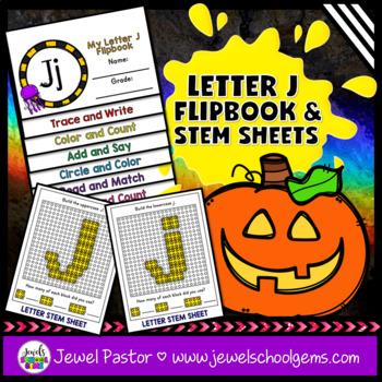Letter J Alphabet Interactive Notebook Activities Flipbook