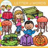 Letter J Alphabet Clip Art
