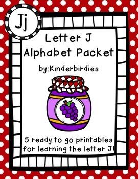 Letter J Alphabet Packet