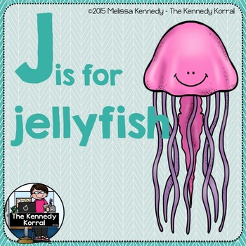 Letter J is for Jellyfish