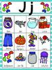 Letter J Vocabulary Cards