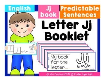 Letter Jj Booklet- Predictable Sentences