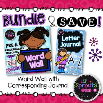 Letter Journal & Word Wall Classroom Bundle