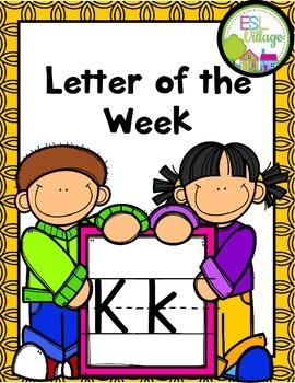"Letter of the Week (Letter ""K"")"
