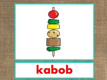 Letter K Alphabet PowerPoint Fun & Colorful Words w/Pictur
